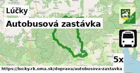 ilustračný obrázok k Autobusová zastávka, Lúčky, okres RK