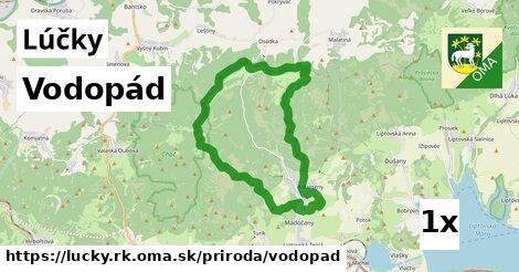 ilustračný obrázok k Vodopád, Lúčky, okres RK