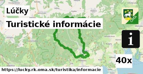 ilustračný obrázok k Turistické informácie, Lúčky, okres RK