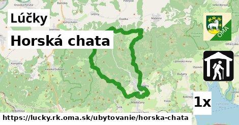 ilustračný obrázok k Horská chata, Lúčky, okres RK