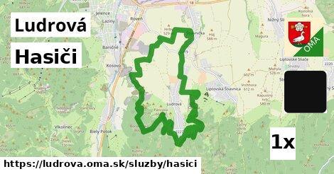 ilustračný obrázok k Hasiči, Ludrová