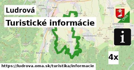 ilustračný obrázok k Turistické informácie, Ludrová
