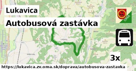 ilustračný obrázok k Autobusová zastávka, Lukavica, okres ZV