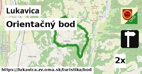 ilustračný obrázok k Orientačný bod, Lukavica, okres ZV