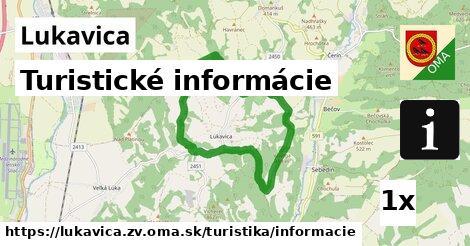 ilustračný obrázok k Turistické informácie, Lukavica, okres ZV