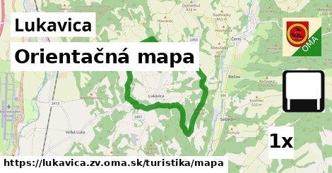 ilustračný obrázok k Orientačná mapa, Lukavica, okres ZV
