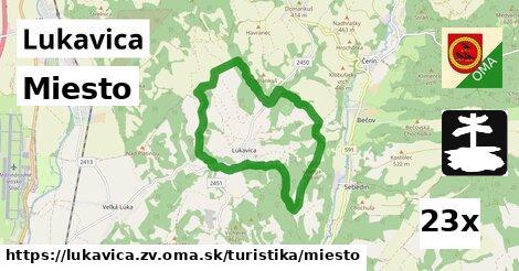 ilustračný obrázok k Miesto, Lukavica, okres ZV