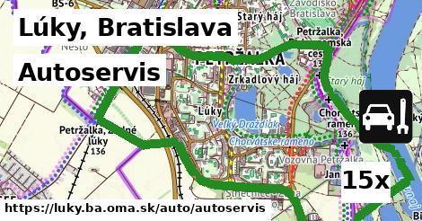 autoservis v Lúky, Bratislava