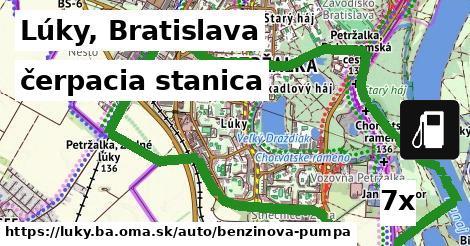 čerpacia stanica v Lúky, Bratislava
