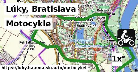 motocykle v Lúky, Bratislava