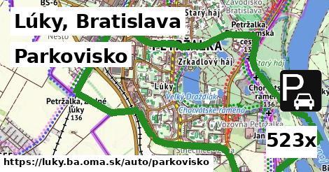 ilustračný obrázok k Parkovisko, Lúky, Bratislava