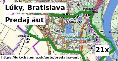 predaj áut v Lúky, Bratislava