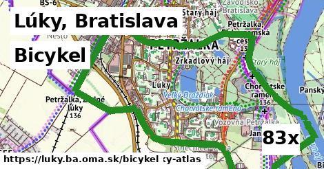 bicykel v Lúky, Bratislava