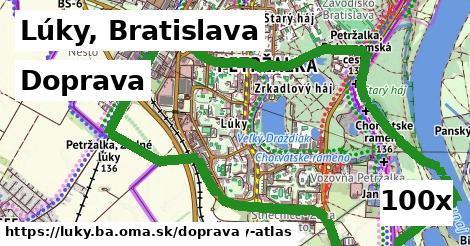 doprava v Lúky, Bratislava