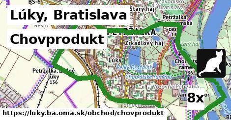 chovprodukt v Lúky, Bratislava