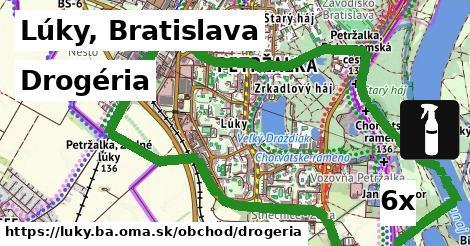 drogéria v Lúky, Bratislava