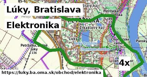 elektronika v Lúky, Bratislava