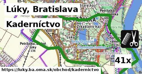 kaderníctvo v Lúky, Bratislava