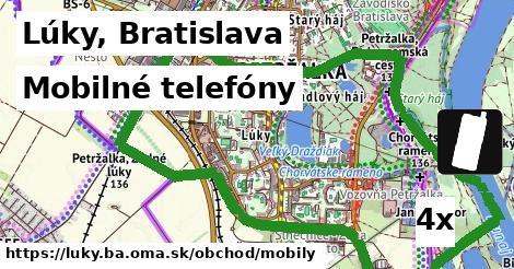 mobilné telefóny v Lúky, Bratislava