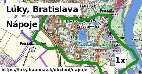 nápoje v Lúky, Bratislava