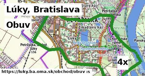 obuv v Lúky, Bratislava