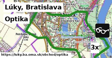 optika v Lúky, Bratislava