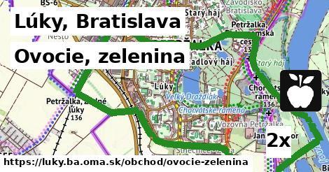 ovocie, zelenina v Lúky, Bratislava