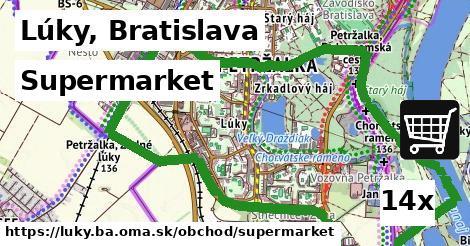 supermarket v Lúky, Bratislava