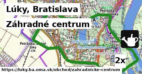 záhradné centrum v Lúky, Bratislava