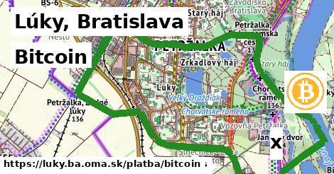 bitcoin v Lúky, Bratislava