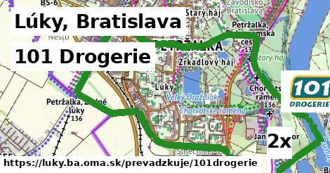 101 Drogerie v Lúky, Bratislava