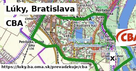 CBA v Lúky, Bratislava