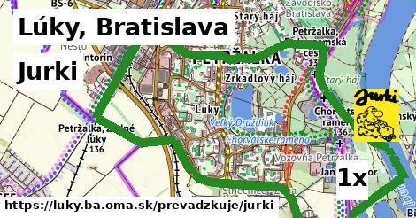 Jurki v Lúky, Bratislava