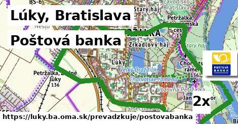 Poštová banka v Lúky, Bratislava