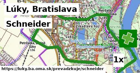 Schneider v Lúky, Bratislava