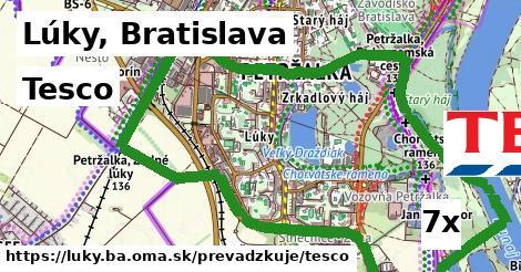 Tesco v Lúky, Bratislava