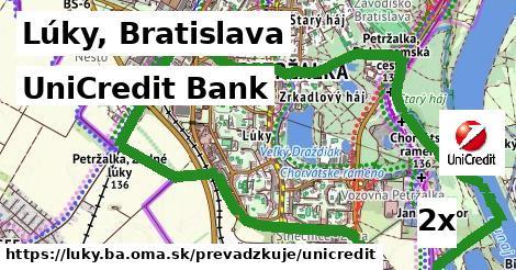 UniCredit Bank v Lúky, Bratislava
