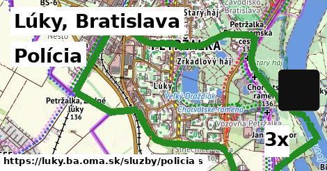 polícia v Lúky, Bratislava