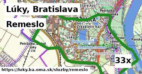 remeslo v Lúky, Bratislava