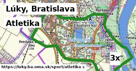 atletika v Lúky, Bratislava