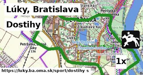 dostihy v Lúky, Bratislava