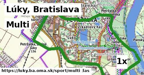multi v Lúky, Bratislava