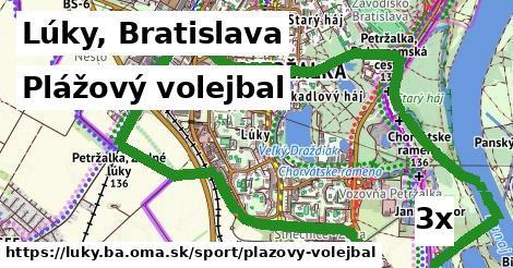 plážový volejbal v Lúky, Bratislava