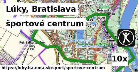 športové centrum v Lúky, Bratislava