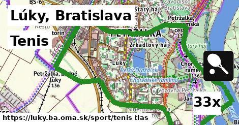 tenis v Lúky, Bratislava