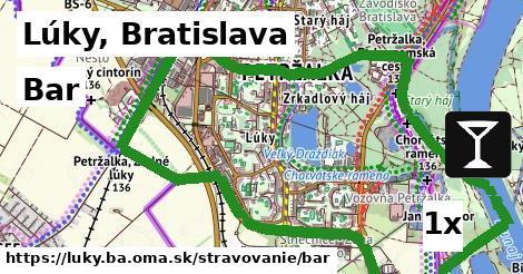 bar v Lúky, Bratislava