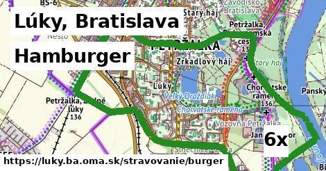hamburger v Lúky, Bratislava