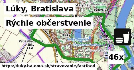 rýchle občerstvenie v Lúky, Bratislava