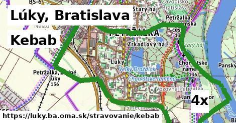 kebab v Lúky, Bratislava