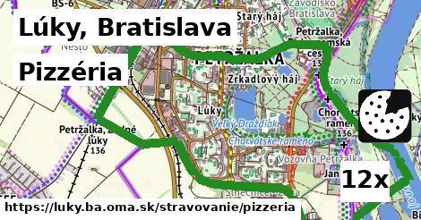 pizzéria v Lúky, Bratislava